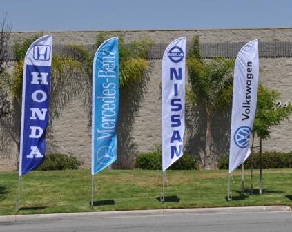 promotional banners teardop banners 2 - Teardrop Banners